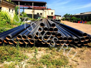 Подготовка к отправке труб 325 с наружной изоляции ВУС